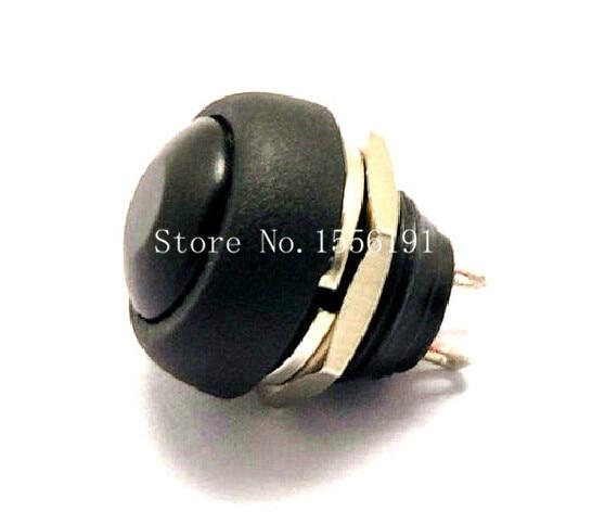 6pcs Pbs-33b 2pin Mini Switch 12mm 12v 1a Waterproof Momentary Push Button Switch Since The Reset Non-locking Lights & Lighting