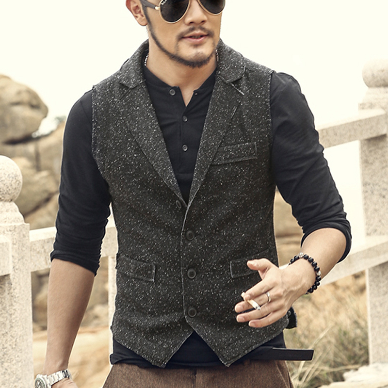 High Quality Casual Suit Vest-Buy Cheap Casual Suit Vest lots from