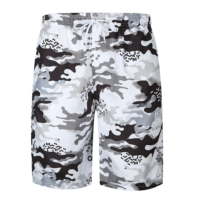 Shorts Mens Bermuda 2018 Summer Camouflage Print Men Beach Hot Cargo Fashion Men Boardshorts Male Brand MenS Short Casual