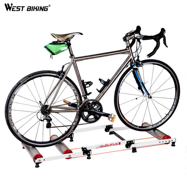 Cheap WEST BIKING Cycling Mountain Biking Indoor Training Station Road Bicycle Exercise Fitness Cycling Roller Training Station