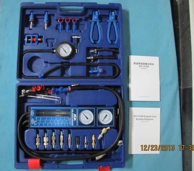 new Engine Fuel System Tester EFI2100 Fuel Pressure Regulator Test