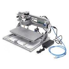 3018 3 축 DC 24V 5.6A 미니 DIY CNC 라우터 w/ 2500mW 레이저 모듈 목재 조각 절단 밀링 조각기