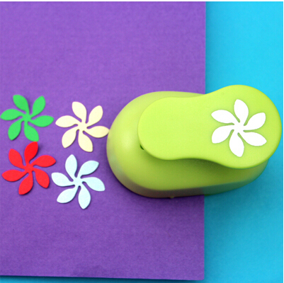 2 25cm wave flower shape eva foam craft punch paper punch cutter for greeting card handmade scrapbook diy puncher free shipping in hole punch from office