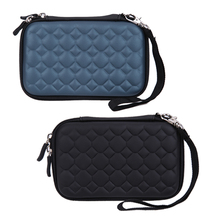 Football EVA PU HDD Carrying Case Bag Organizer Bag Hard Carry Case for 2.5 inch Portable USB Flash Drive Memory Card