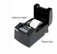 2018 NIEUWE Groothandel Hoge kwaliteit 58mm thermische printer machine afdrukken snelheid 90 mm/s Netwerk poort of usb-poort