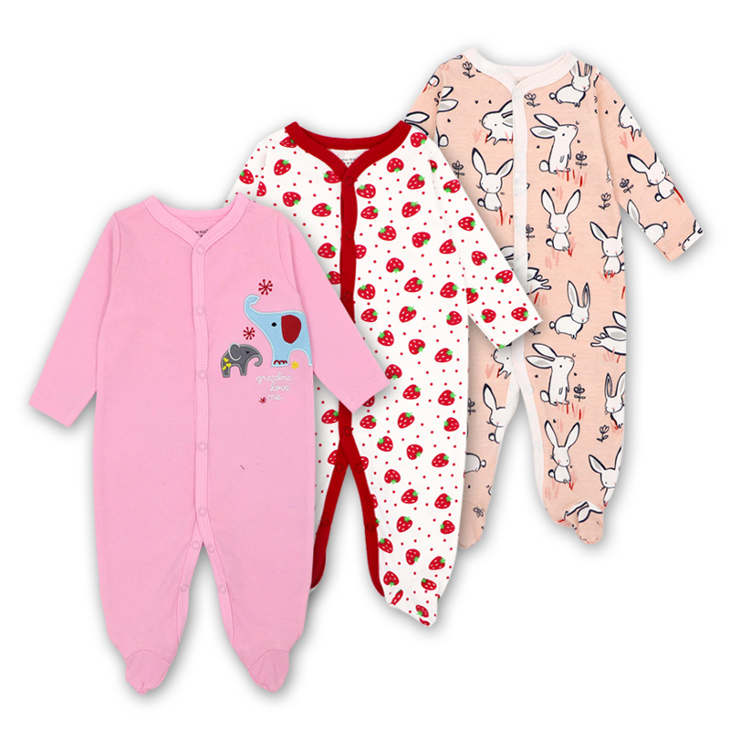 3pcs/lot Newborn Baby Clothes Cartoon Animal Costume Baby Girls Boys Jumpsuit clothing Winter Warm Romper Unisex Baby Clothes 6m 24m newborn unisex baby clothes elephant baby girls boys long sleeve jumpsuit clothing winter warm romper body baby clothes