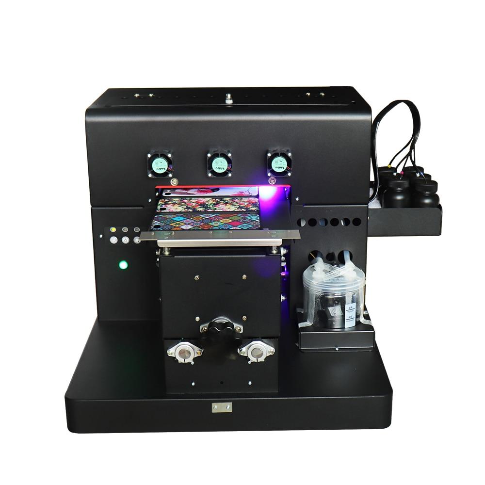 A4 kleinformaat UV-led flatbed printer inkjetprinters met 1 set - Office-elektronica - Foto 3