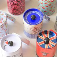 New Double Layer Seal Candy   Storage   Box Tea Caddy Receive Box Tin Box Container Household   Storage     Bottles     Jars
