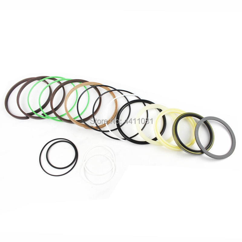 For Hyundai R225-7 R225LC-7 Bucket Cylinder Repair Seal Kit Excavator Gasket, 3 month warranty high quality excavator seal kit for komatsu pc200 5 bucket cylinder repair seal kit 707 99 45220