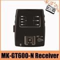 Meike mk gt600 mk-gt600n receptor 2.4g 1/8000 s hss ttl disparador de flash inalámbrico receptor para nikon d7100 d7000 d5100 d5000 d5200