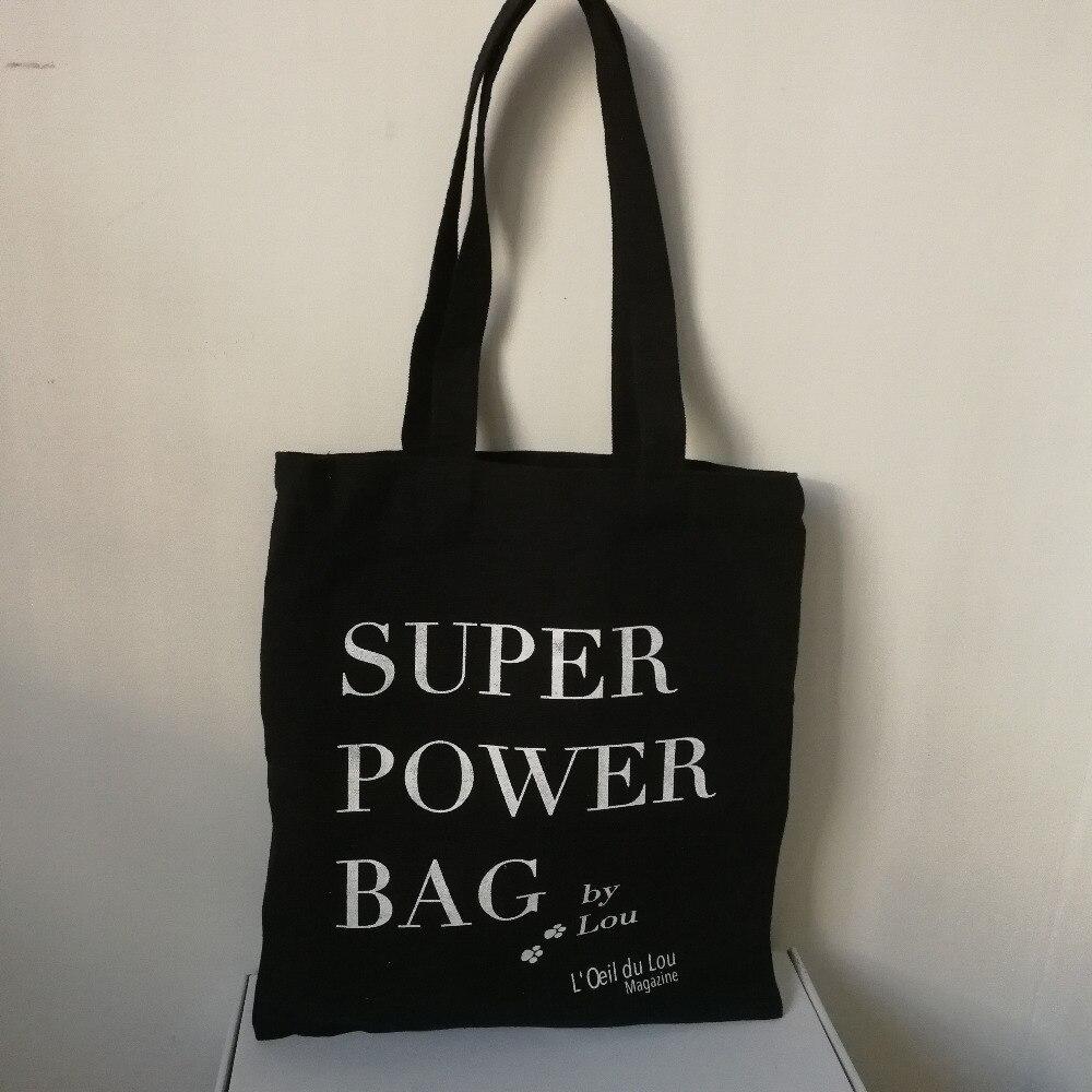 Réutilisable tout lot noir Coton Naturel Eco Personnalisée Pcs Fourre Toile De Shopping blanc Avec Sac En Logo 300 Gros Votre wFtnZq