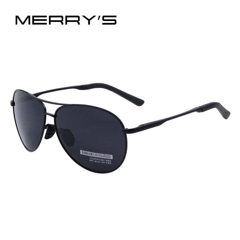 MERRY'S Gafas de Sol Polarizadas Hombres Conductor Espejo Gafas de - Accesorios para la ropa - foto 3
