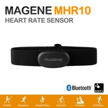 Magene MHR10 Bluetooth4.0 ANT + Heart Rate Sensor Compatible GARMIN Bryton IGPSPORT Computer Running Bike Heart Rate Monitor(China)