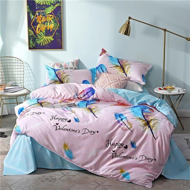 Aloe Cotton Bedding Set 1 Pcs duvet cover/quilt cover+2 pcs pillowcase 160*210/180*200/200*230/220*240 free shipping bed set