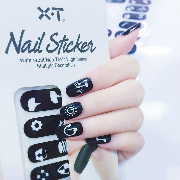 X.T XT Nail Polish Strips cute fashion design Waterproof Non toxic ...