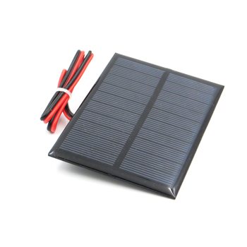 5 V 200mA 1 Watt W extend wire Solar Panel Polycrystalline Silicon DIY Battery Charger Small Mini Solar Cell cable toy 5V Volt 4