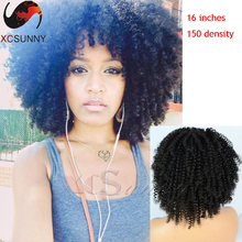 Natural  Hair Wig 150 Density Brazilian Afro Kinky Curly Lace Front Wigs Glueless Full Lace Human Hair Wigs For Black Women