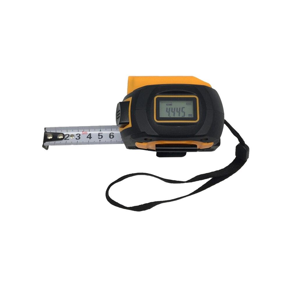 SNDWAY Laser range finder digital 5M maßband 60M laser abstand meter versenkbare laser-entfernungsmesser Herrscher Umfrage werkzeug