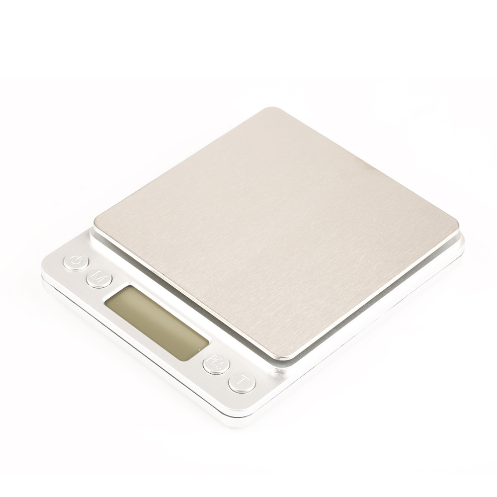 kitchen scale LCD Display Mini Electronic Digital Jewelry Pocket Scale  Balance 3Kg 0.1g Portable Weight Weighing Scale-in Weighing Scales from  Tools on ... 95a3a1d333a
