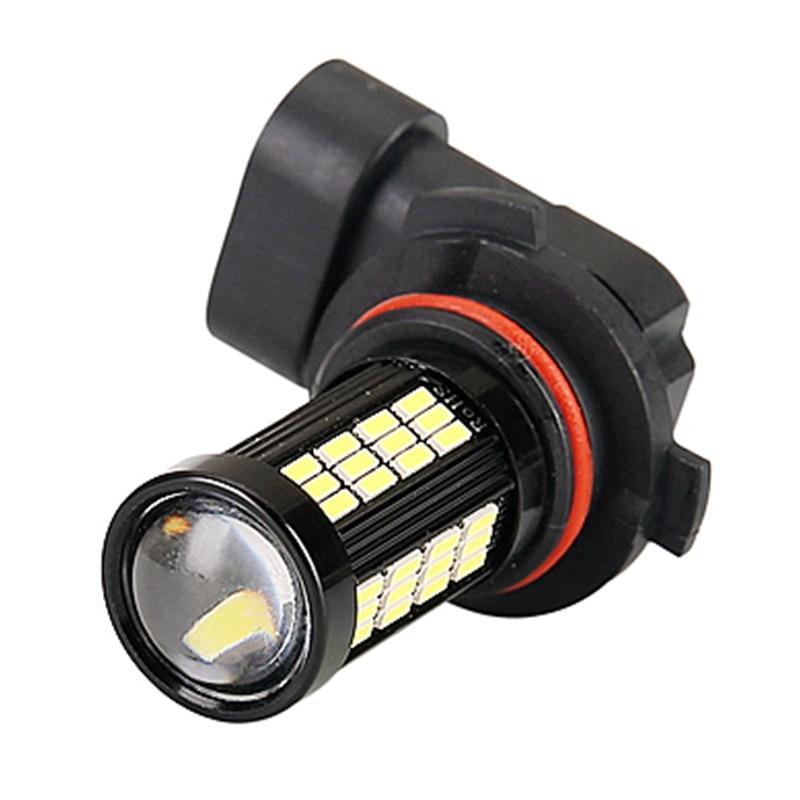 1 шт., H11, H8, 9006, HB4, 1200LM, высокая мощность, 66 светодиодный, передний противотуманный фонарь, лампа для авто, для вождения, противотуманная фара, ...