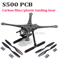 S500 500mm PCB Version Four Axis Qudcopter Frame ( F450 Upgrade Version ) with carbon fiber / plastic Landing Gear 1045 Prop|Parts & Accessories|Toys & Hobbies -