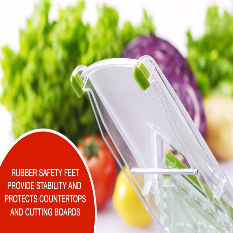 Image 5 - WALFOS Mandoline Slicer Manual Vegetable Cutter with 4 Blade Potato Carrot Grater for Vegetable Onion Slicer Kitchen Accessoriesmanual vegetable cuttervegetable cuttermandoline slicer -
