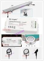 Ми свет SYS-T1/SYS-T2/SYS-RL1/SYS-RW1/SYS-RC1/SYS-RC2 Wi-Fi rgb контроллер зоны усилитель светодиодный настенный светильник с новой уникальной технологией рассеив...