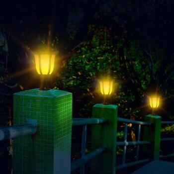 Outdoor Decorative Lanterns   LED Solar Torch Light Flame Lighting Waterproof Outdoor Lantern Lawn Lights Sensor Flickering Solar Lamp For Garden Decoration