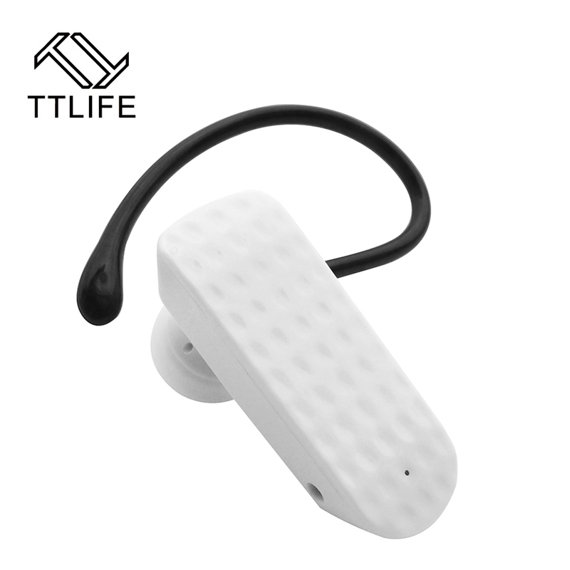 ttlife brand mini bluetooth earphone wireless headphones ear hook headset noise cancelling. Black Bedroom Furniture Sets. Home Design Ideas