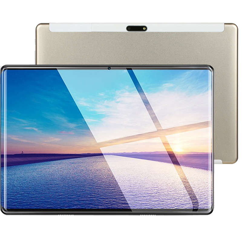 MTK6797 10 Inch Tablet PC 3G 4G LTE Android 7 Deca 10 Core Metal  Tablets 6GB RAM Big 128GB ROM WiFi GPS 10.1 2.5D Tempered Tab