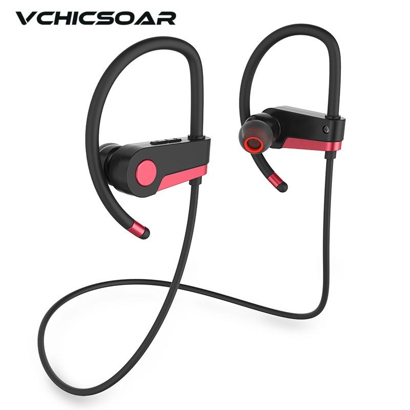 Vchicsoar VCT2 Sports Running Wireless Bluetooth Earphones CSR V4.0 Stereo Noise Reduction Headset Headphones with Mic for Phone