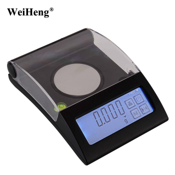 100g 0.001g High Precision Lab Digital Milligram / Gram jewelry Diamond Gold Scale 0.001 electronic Laboratory Weighing Balance Весы