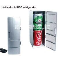 16 PCS DC5V Plug & Play Portátil Prático Mini USB Desktop Do Escritório PC Congelador Geladeira Carro Frigorífico Bebida Pode Beber refrigerador
