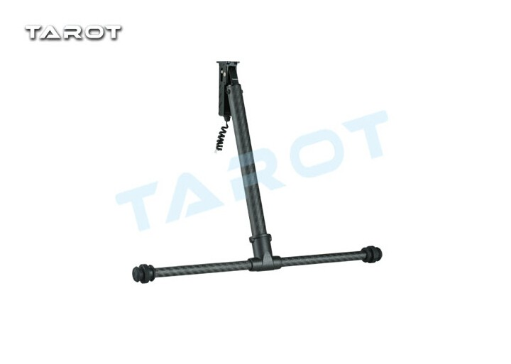 Tarot TL69A02 Metal Electric Retractable Landing Gear Skid Kit for Tarot XS690 TL69A01 Wheelbase 400-700 Multicopter FPV F17602 f11270 tarot x8 8 aixs umbrella type folding multicopter uav octocopter drone tl8x000 with retractable landing gear