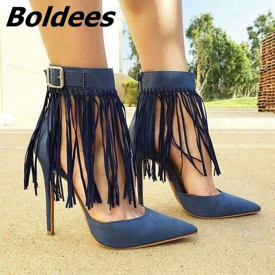 4a90de3998 Elegant-Black -PU-Leather-Fringe-Ankle-Wrap-Heels-Trendy-Buckle-Style-Pointy-Stiletto-Heel- Pumps-Women.jpg