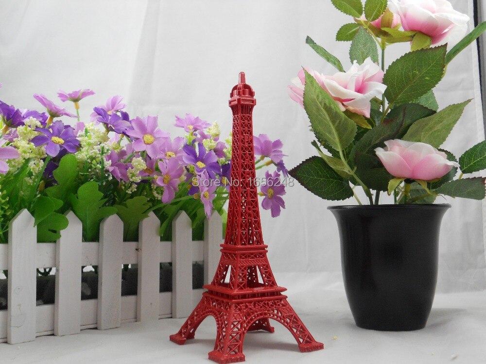 18cm red painted paris the eiffel tower decor torre eiffel for Eiffel tower decorations for the home