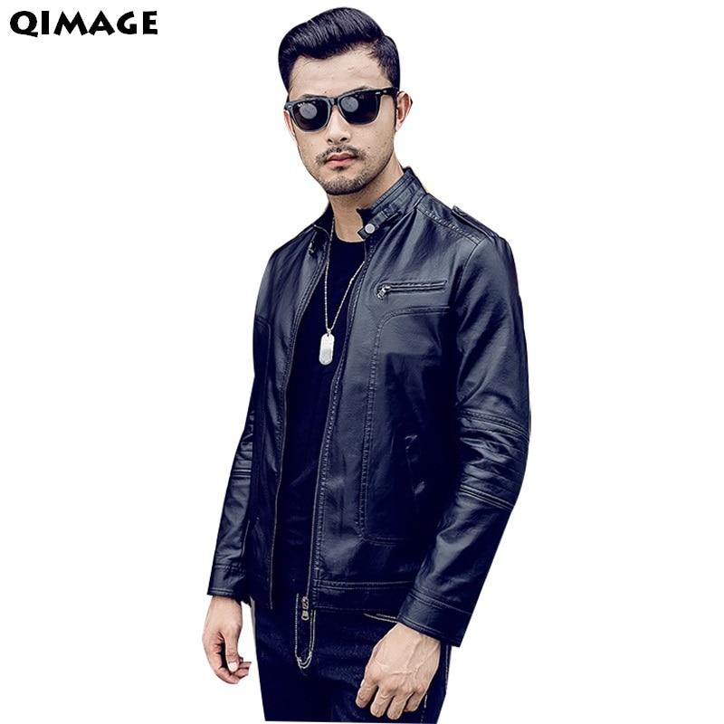 Men's Clothing Jackets Coats 2017 New Arrival QIMAGE Brand Men - Men's Clothing