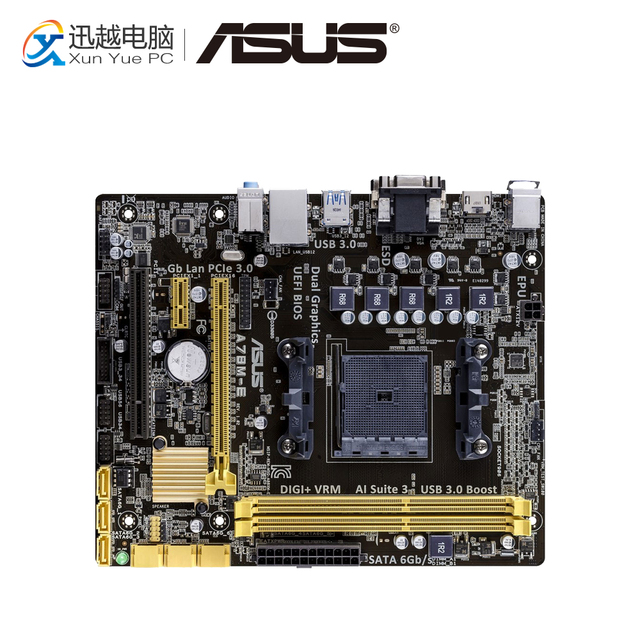 ASUS A78M-E AMD Graphics Windows 7 64-BIT