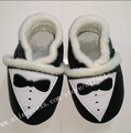 low price Handmade winter warm Genuine Leather baby boys shoes with fur First Walker baby moccasins wholesale 100pairs/lot