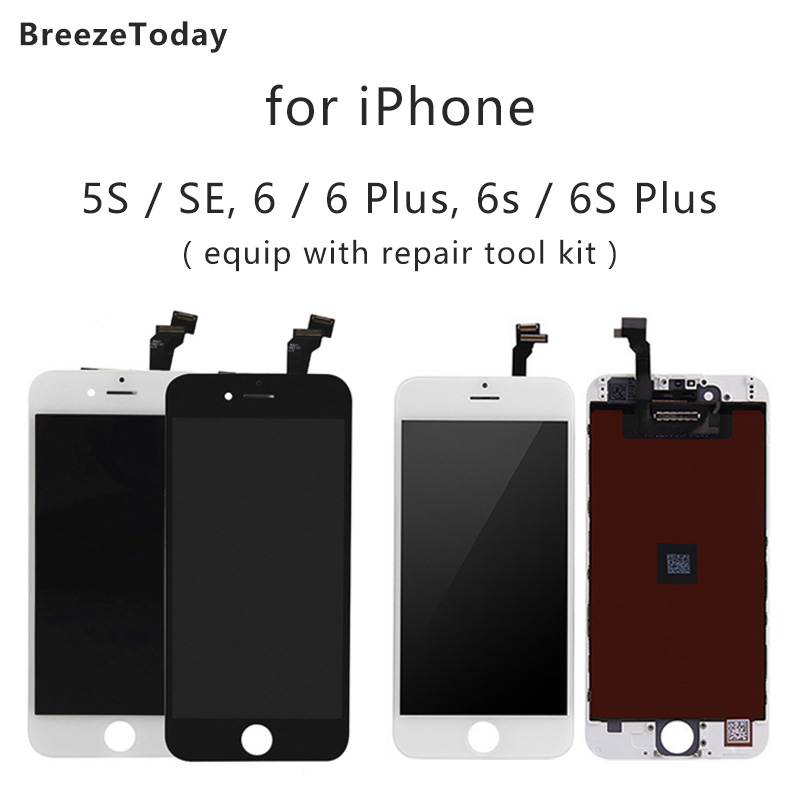 Mobile Phone Display For iPhone 6 LCD 6 Plus 6s Display SE 6s Plus 5s LCD Display Mobile Phone LCD Screen Replacement image