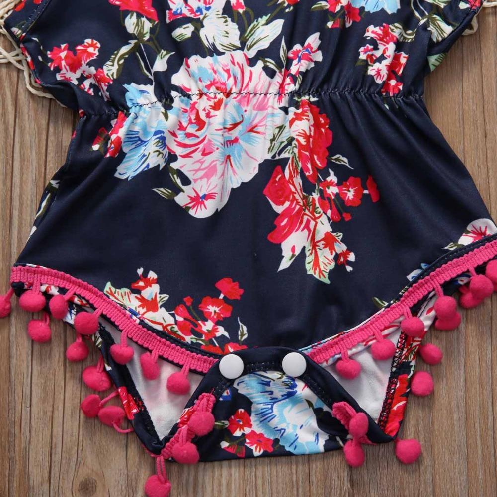 Fashion-Printing-Cute-Nouveau-ne-Cotton-Enfant-Bebe-Florales-Pour-Filles-Combinaison-Grenouillere-Maillots-2