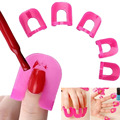 26pcs Nail Art Extension Sticker Template Clip Guide Form Plastic Professional Nail Tools Gel Nail Polish Curl Tips For Women