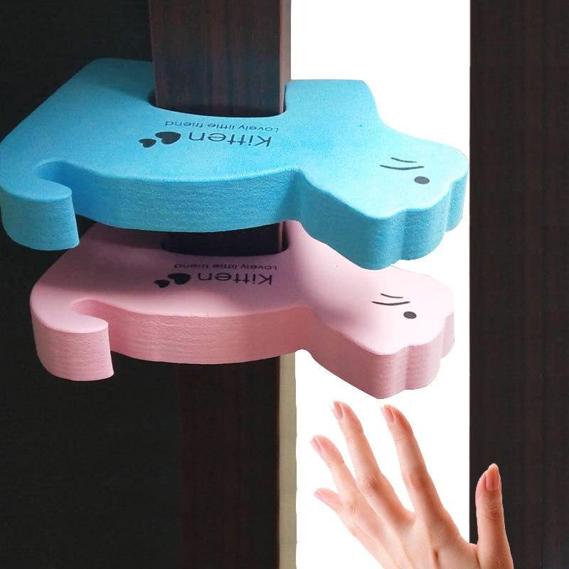 Toddler Safety Finger Protector Newborn 6pcs/set Animal Door Stopper Finger Guard Prevent Infant Guards Door Stopper Holder Lock