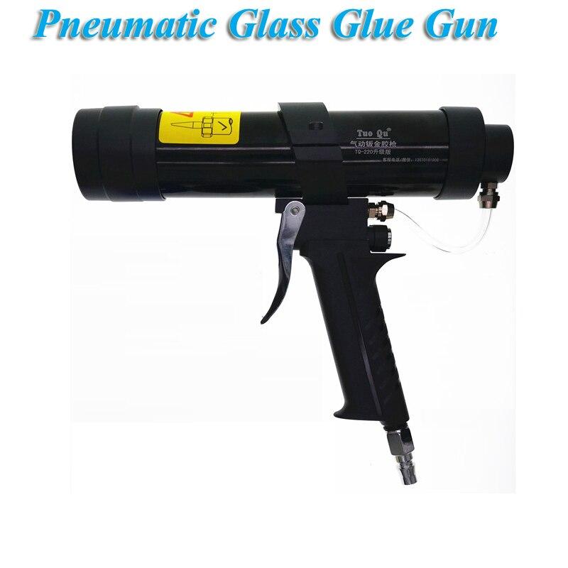 Pneumatic glass glue gun accident car door cover shock absorber bag girder chassis spray sheet metal glue gun set