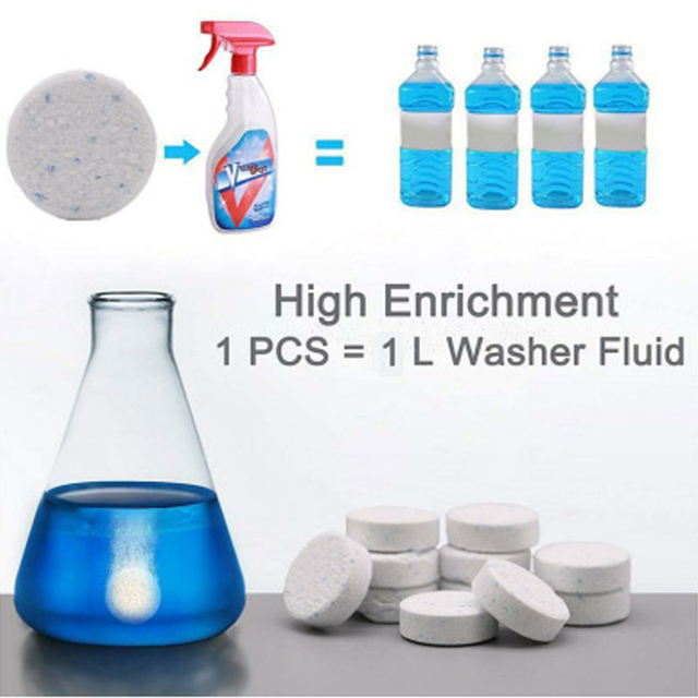 Multifunctional Effervescent Spray Cleaner Set 50pcs