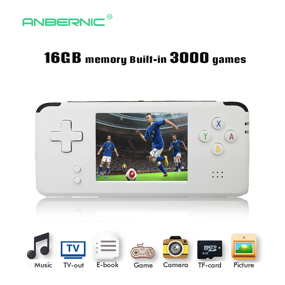 2018 Portable Video Handheld Game Console Retro 64 Bit 3 Inch 3000 Video Game Retro Handheld Console to TV RS-97 RETRO-GANE 07 ...