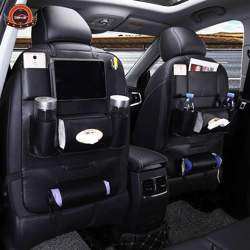 Neue Design Mode Auto sitz lagerung tasche auto sitz zurück tasche auto styling Multifunktions tasche kind sicherheit sitz auto steat zurück tasche