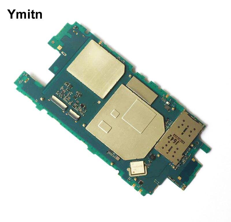 Ymitn Mobile Débloqué Panneau Électronique Carte Mère Carte Mère Circuits Flex Câble Pour Sony Xperia X Compact xc F5321