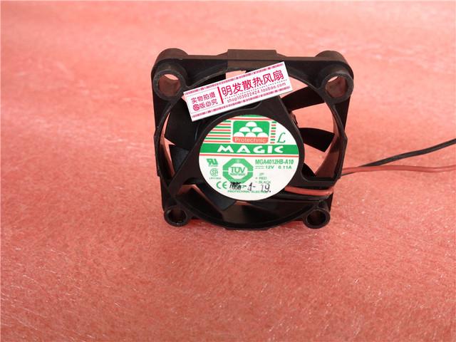 4010 12 V 0.11A MGA4012HB-A10 4 CM/cm ventilador de refrigeración