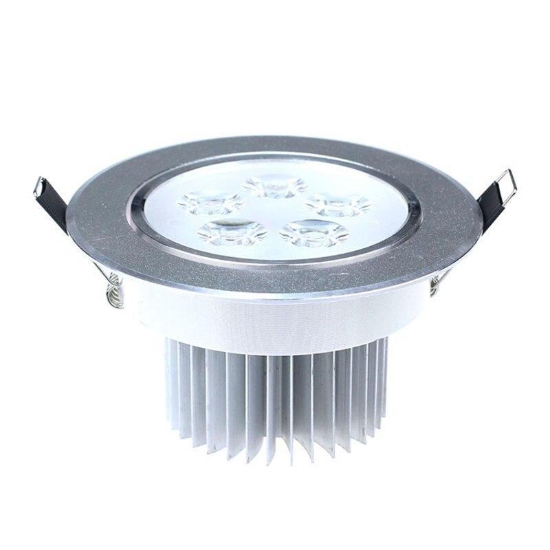 5 Вт светодиодный встраиваемые потолочный светильник прожектор лампы свет 85-265 В высокого качества без УФ-излучения AC 85-265 В светодиодный Пан...